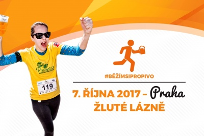 Pivní běh Praha 2017