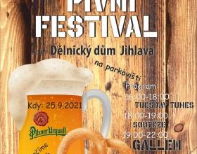 Pivní festival v Jihlavě 2021