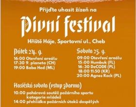 Pivní festival Cheb 2021