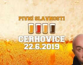 11. Pivní slavnosti Cerhovice 2019 se Zdeňkem Izerem