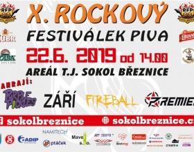 X. ročník Rockového Festiválku Piva 2019